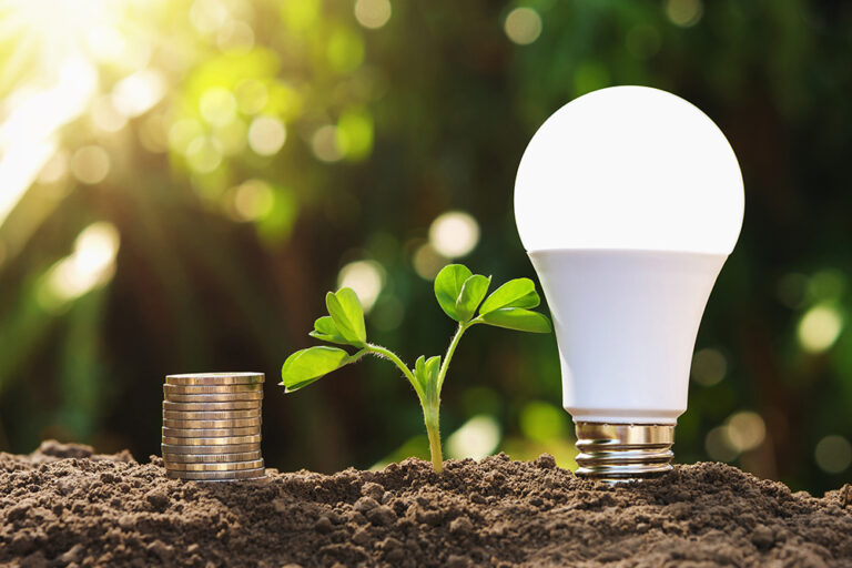 4 ventajas medioambientales de la iluminación LED industrial